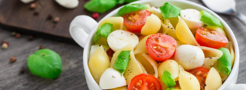 Pasta.com | Caprese Pasta Salad Recipe