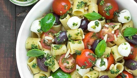 Summer Pesto Pasta Salad