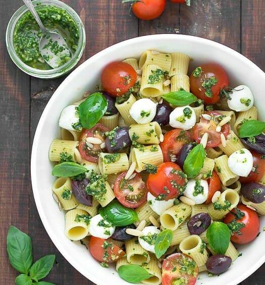 Pasta.com | Summer Pesto Pasta Salad Recipe